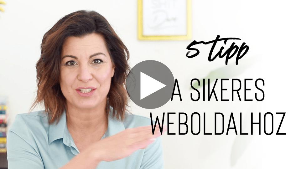 5 Tipp a sikeres weboldalhoz | Miller Szilvia